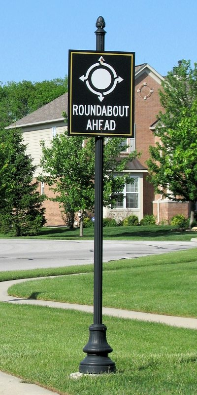 Decorative Traffic Signs The Streetscape Company